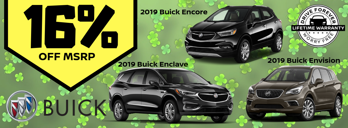 2019 Buick Models Special