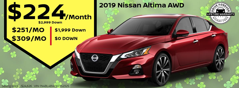 2019 Nissan Altima Special