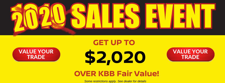 2020 Sales Event Slide