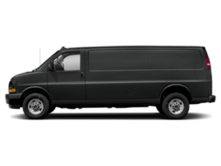 2019 GMC Savana Cargo Van sideview