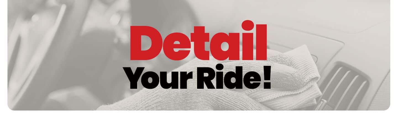 Detail Your Ride Header