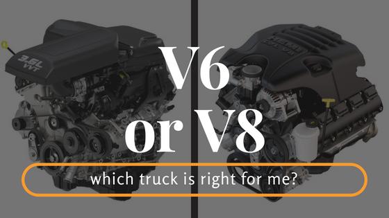 should i get a v6 or v8 truck
