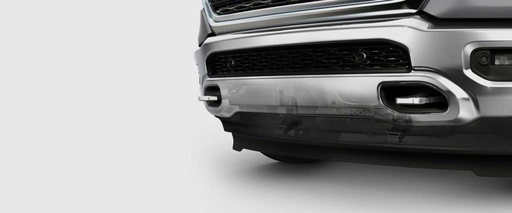 2019 ram with the grill shutter