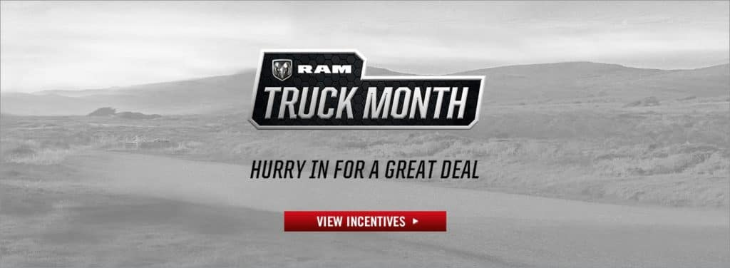 Save with 0% APR on all new 2019 RAM 1500's!