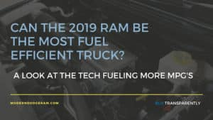 All New 2019 Ram 1500 Capability Features