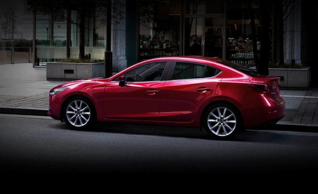 Lease a new 2018 Mazda3