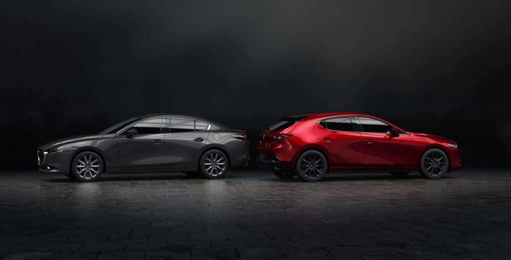 Lease a new 2019 Mazda3