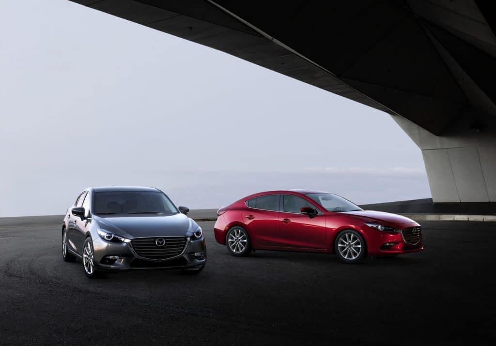 2018 Mazda3 exterior