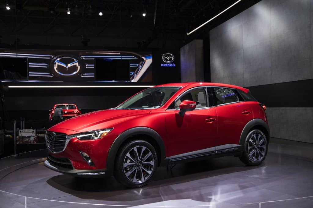 2019 Mazda CX-3 at 2018 NYIAS