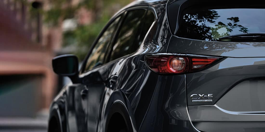2020 Mazda CX-5 Closeup of Rear Taillight