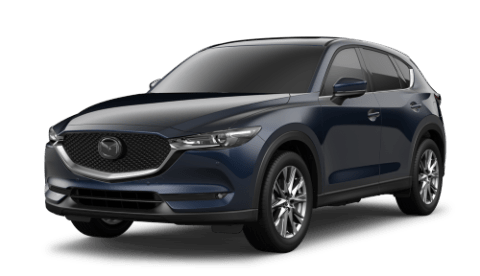 2020 Mazda CX-5 in Deep Crystal Blue Mica