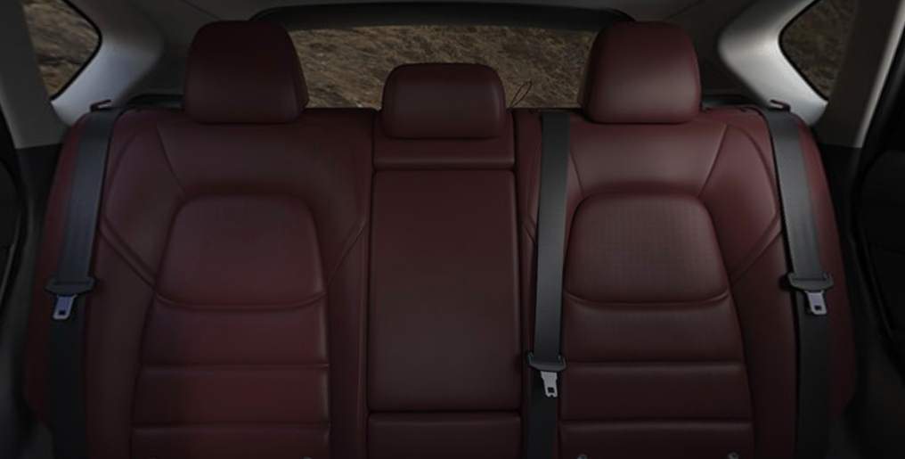 2021 Mazda CX-5 Red Leather