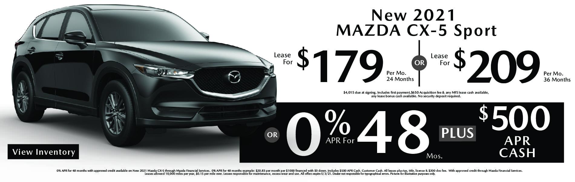 New Mazda CX-5 Specials