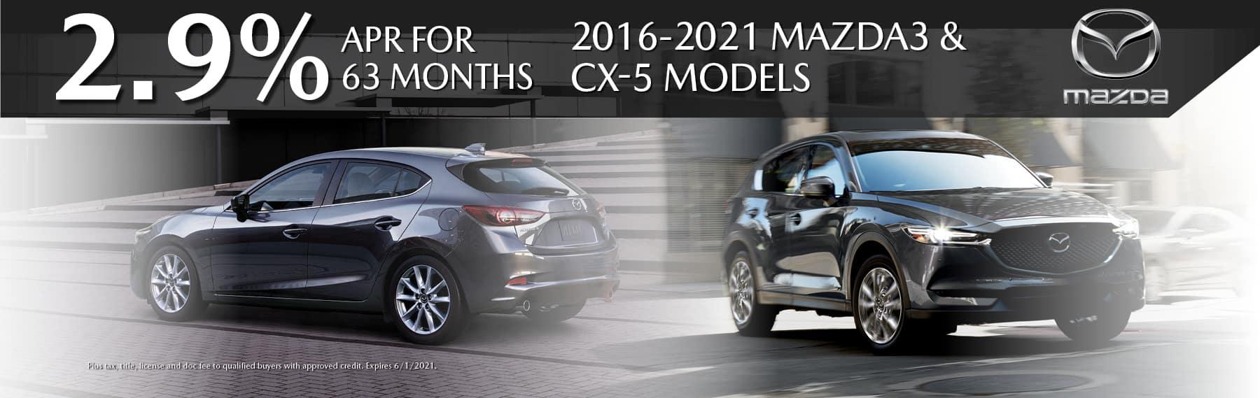 Mazda CPO Incentives