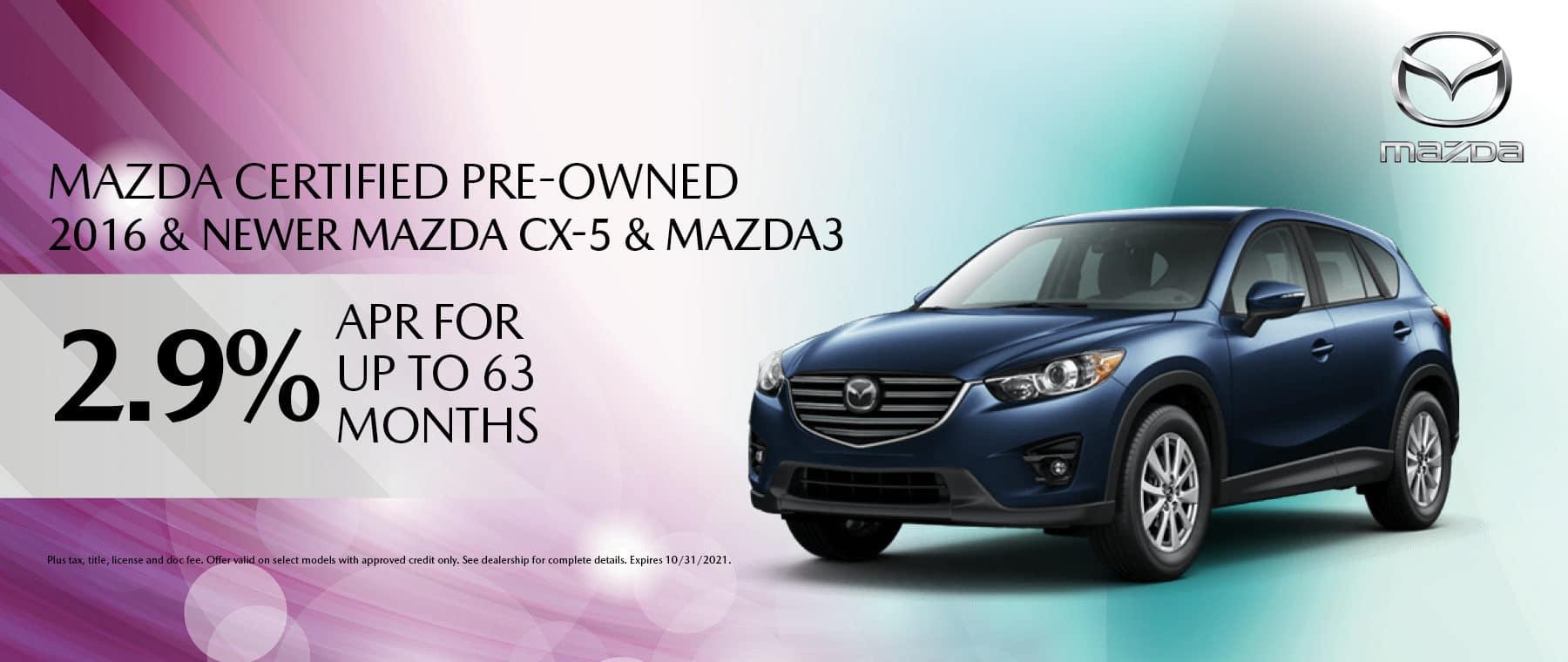 Mazda CPO Deal