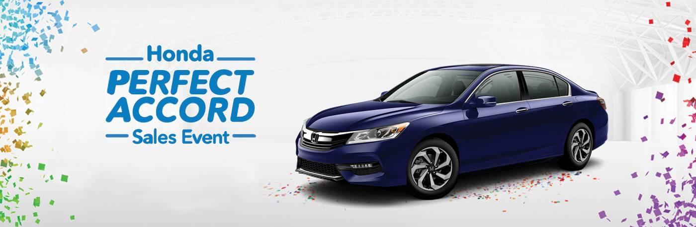 New England Honda Perfect Accord Sales Event