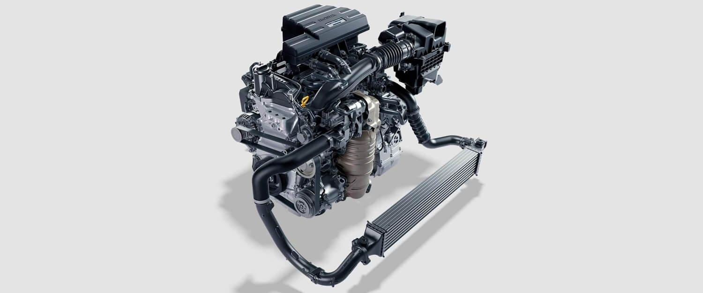 2017 Honda CR-V Turbo Engine