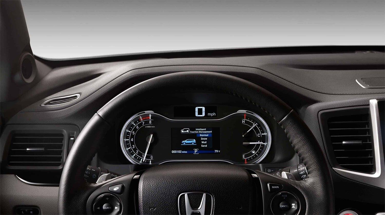2017 Honda Pilot Interior Driver POV