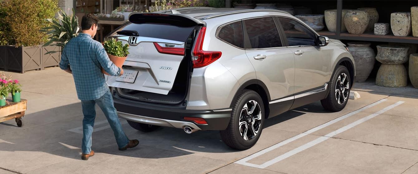 2018 Honda CR-V AWD Exterior Rear Angle Liftgate