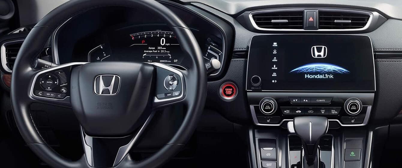 2018 Honda CR-V AWD Interior Driver POV