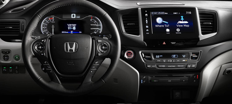 2018 Honda Pilot AWD Interior Driver POV