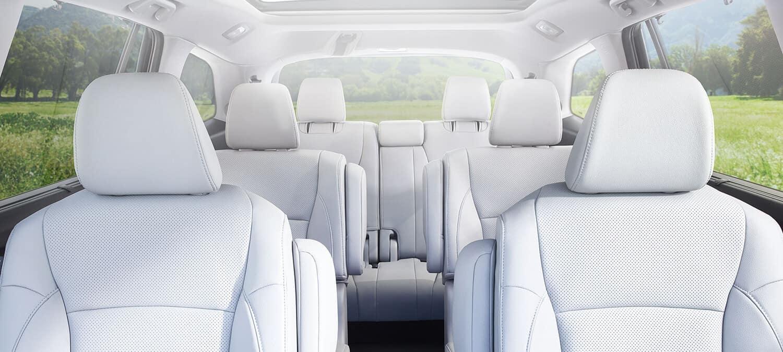 2018 Honda Pilot AWD Interior Three-Row Seating