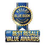 2017 Kelley Blue Book Best Resale Value