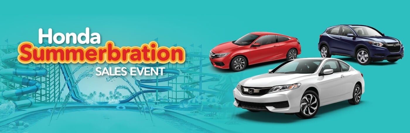 New England Honda Summerbration Sales Event