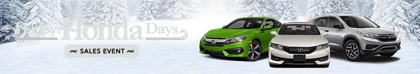 Happy Honda Days at Your New England Honda Dealers