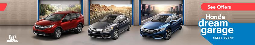 New England Honda Dream Garage Sales Event