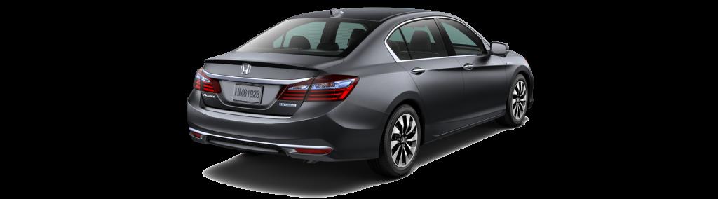 2017 Honda Accord Hybrid Rear Angle