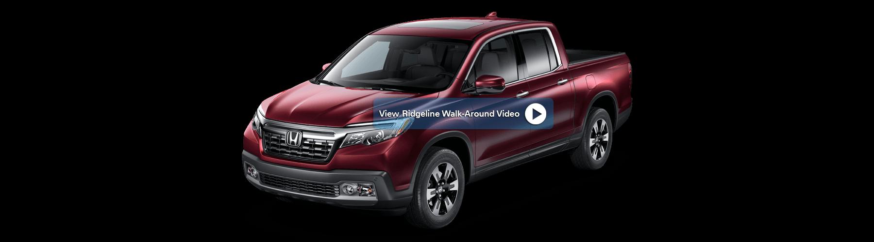 2017 Honda Ridgeline Front Angle