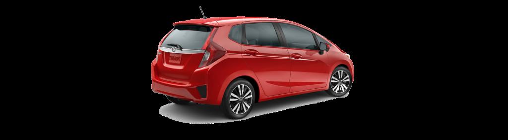 2017 Honda Fit Rear Angle