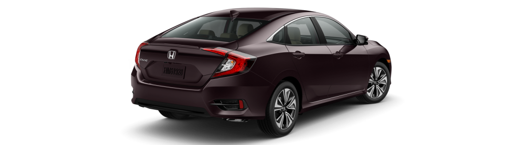 2017 Honda Civic Sedan Rear Angle