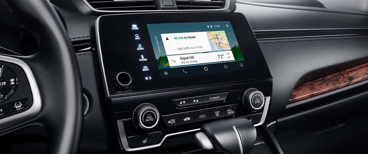 2017 Honda CR-V Android Auto and Navigation