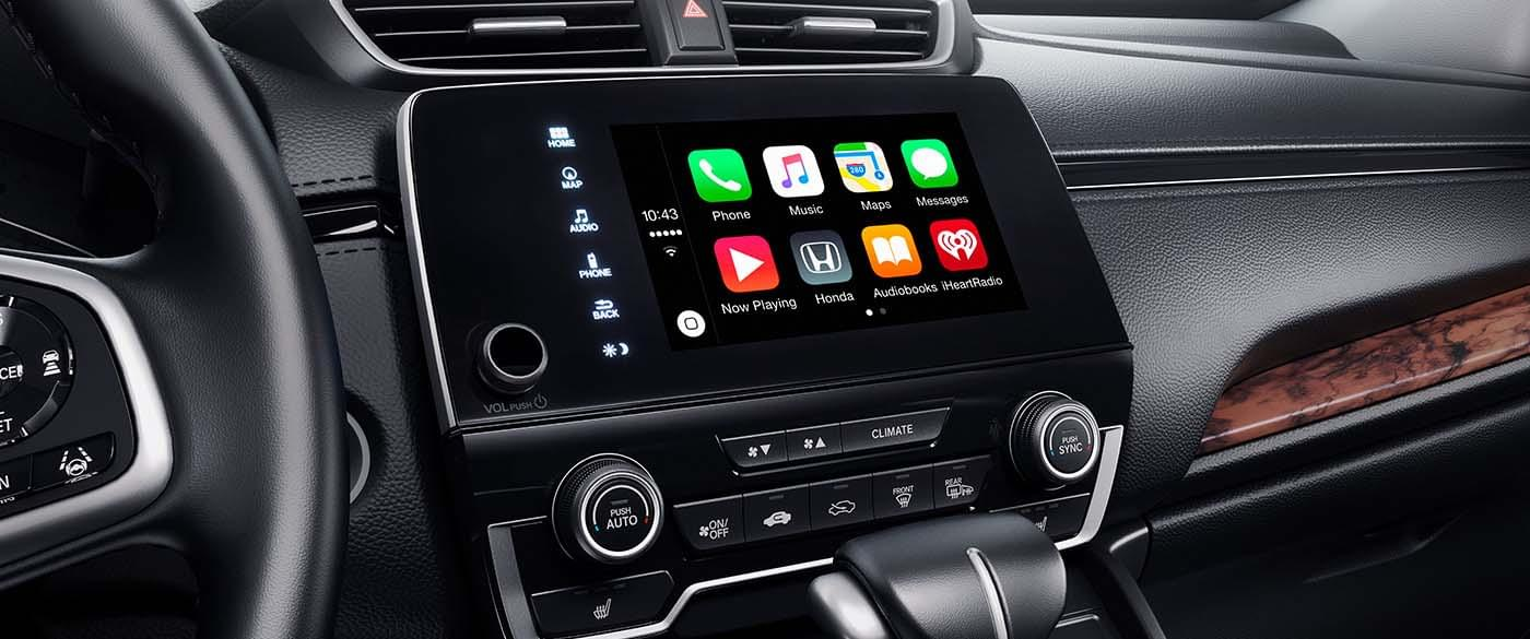 explore the technology features of the 2017 honda cr v