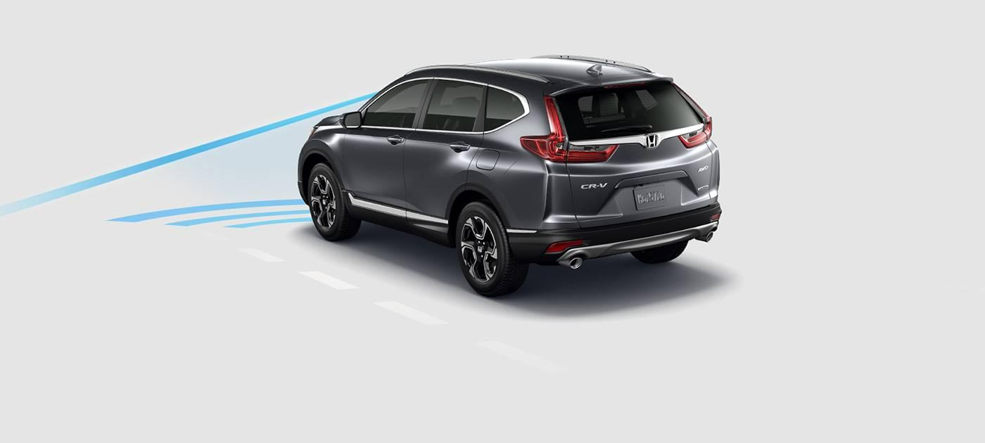 2017 Honda CR-V Collision Mitigation Braking System