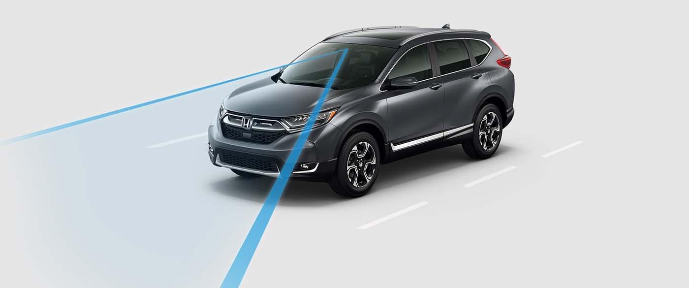 2017 Honda CR-V Road Departure Mitigation System
