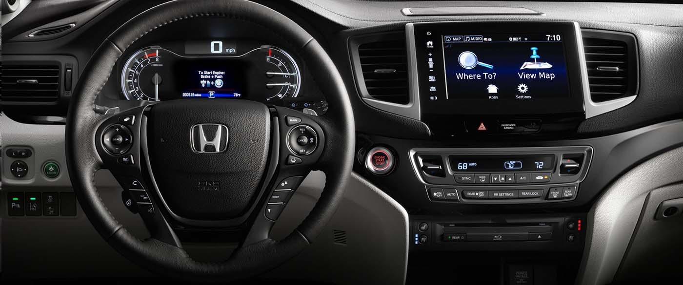 2017 Honda Pilot Navigation