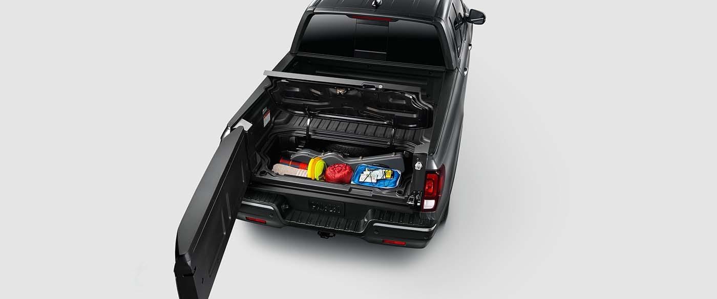 2017 Honda Ridgeline In Bed Trunk
