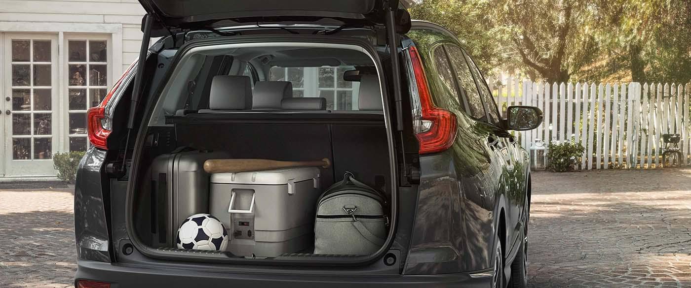 2017 Honda CR-V Touring Cargo Space