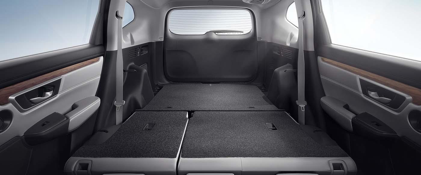Honda CR-V Flat Cargo Area
