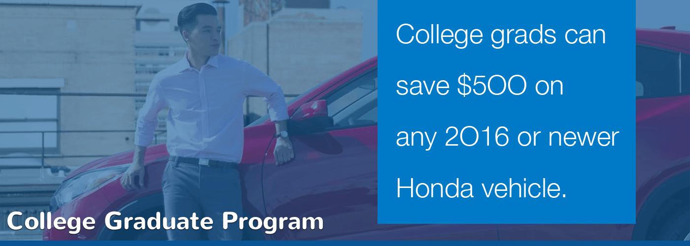 New England Honda College Graduate Program