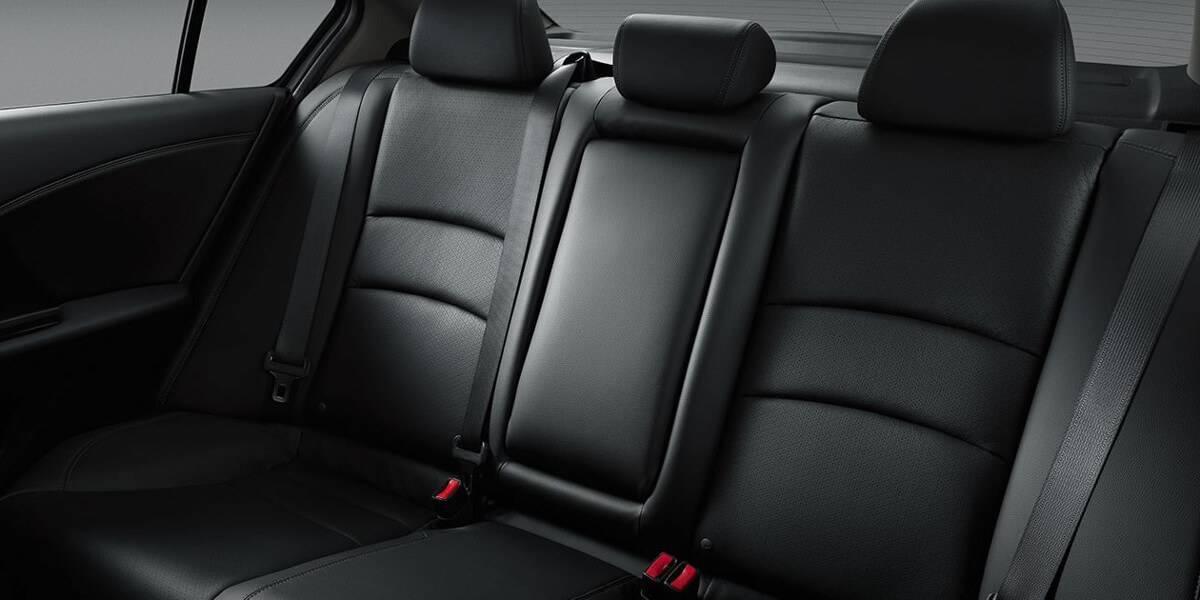 2017 Honda Accord Seatbelts