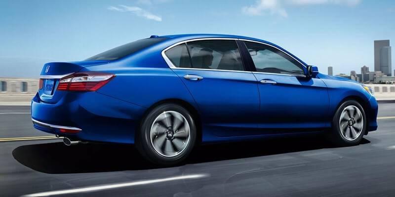 2017 Honda Accord Sedan EX blue exterior model