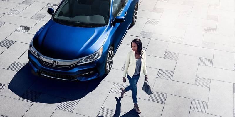 2017 Honda Accord Sedan Touring Blue Exterior Model