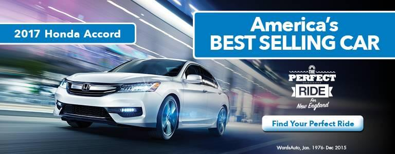 2017 Honda Accord America's Best Selling Car