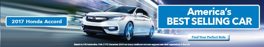 2017 Honda Accord - America's Best Selling Car