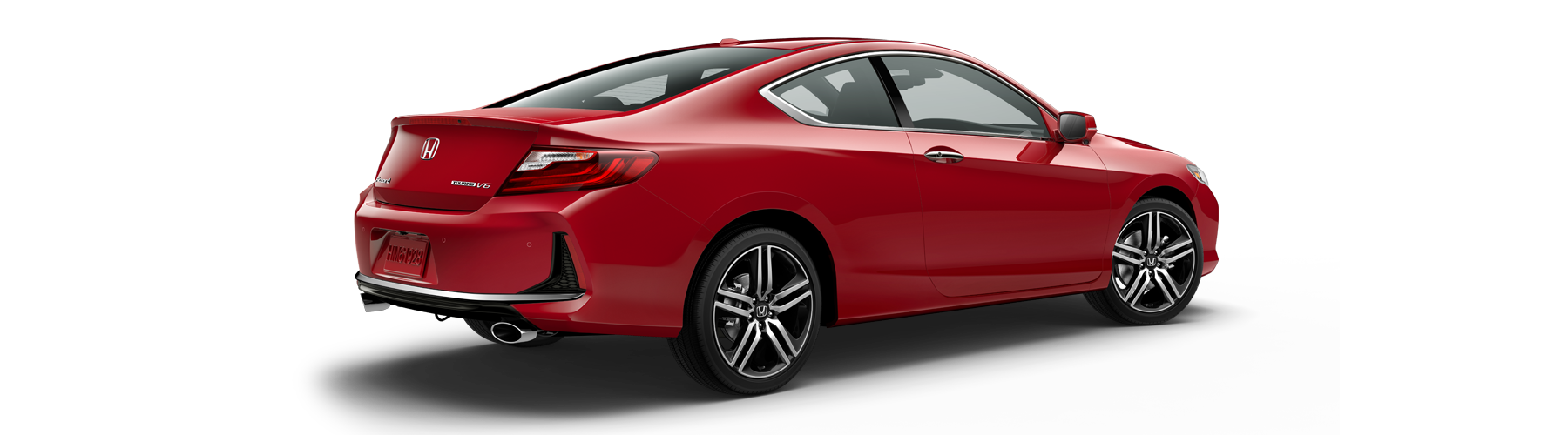 2017 Honda Accord Coupe Rear Angle