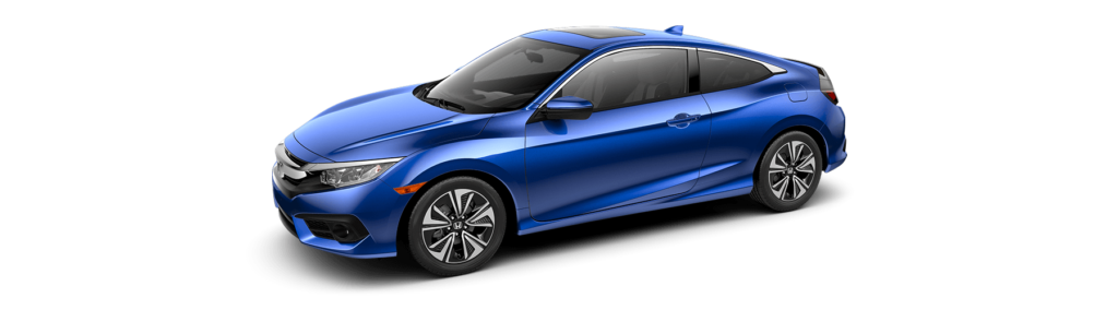 2017 Honda Civic Coupe Front Angle